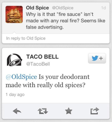 Taco Bell Old Spice