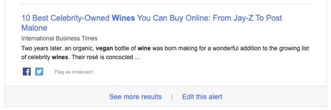 notificación vinos veganos