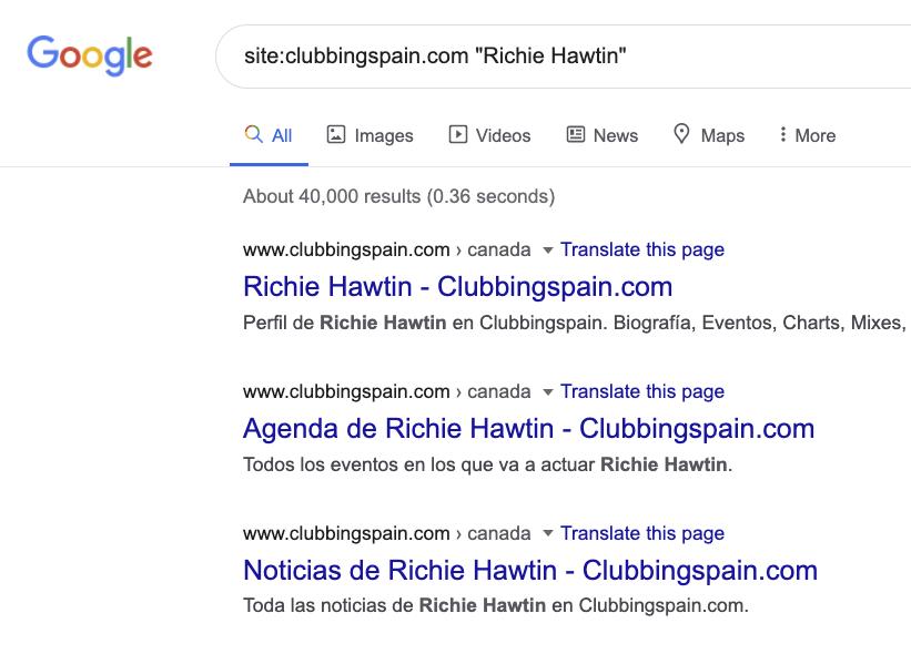 site Richie Hawtin