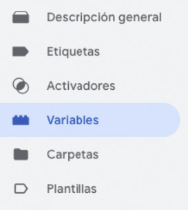 Variables Google Analytics